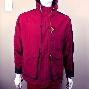 Mens XS Gap Jacket Red & Black lined. 1A